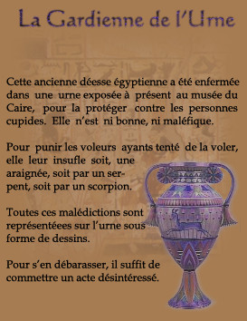 La gardienne de l'urne